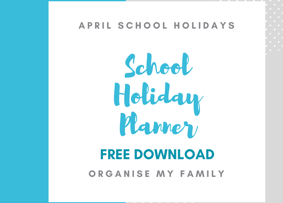 School holiday planner: Free download