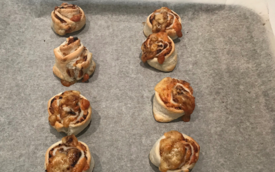 Super easy cheesymite scrolls